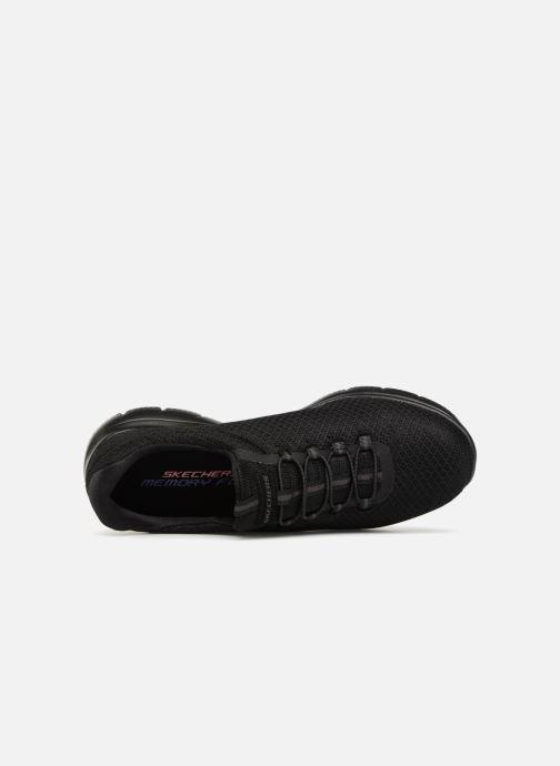 Zapatillas de deporte Skechers Summits Negro vista lateral izquierda