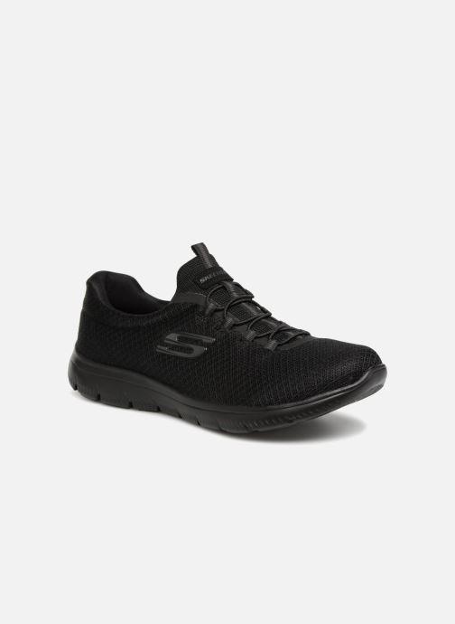 Chaussures de sport Skechers Summits Noir vue détail/paire