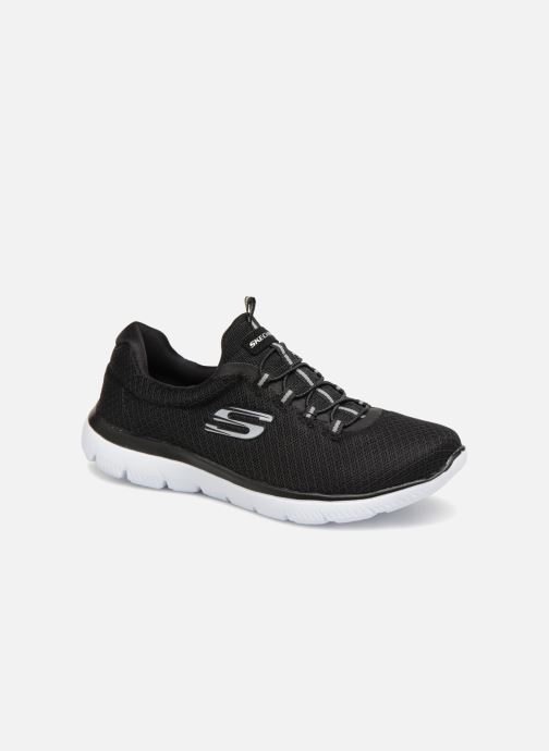 Sportssko Skechers Summits Sort detaljeret billede af skoene