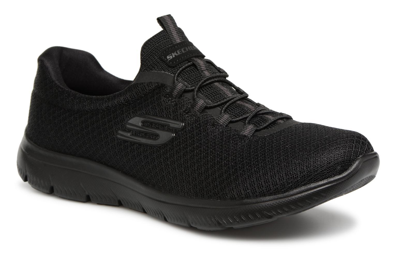 Sportschuhe Skechers Summits schwarz detaillierte ansicht/modell