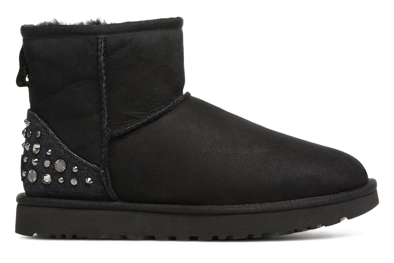 Bottines et boots UGG Mini Studded Bling Noir vue derrière