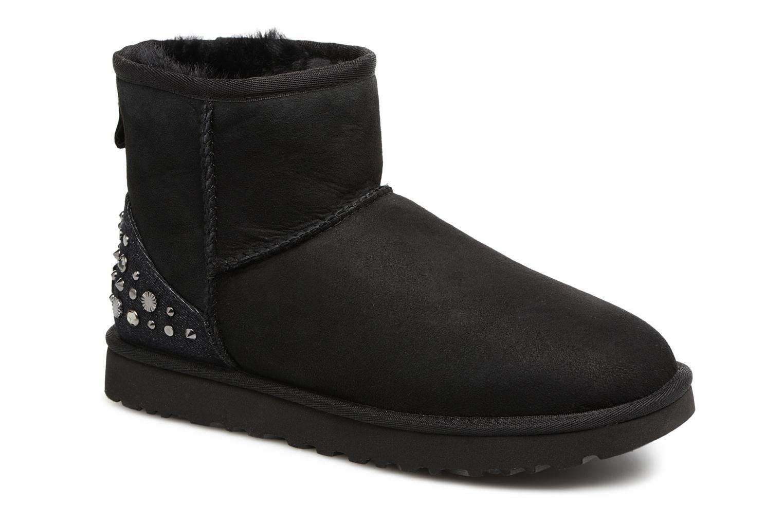 Bottines et boots UGG Mini Studded Bling Noir vue détail/paire