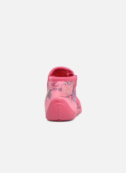 Pantofole Disney Princess Axe Rosa immagine destra