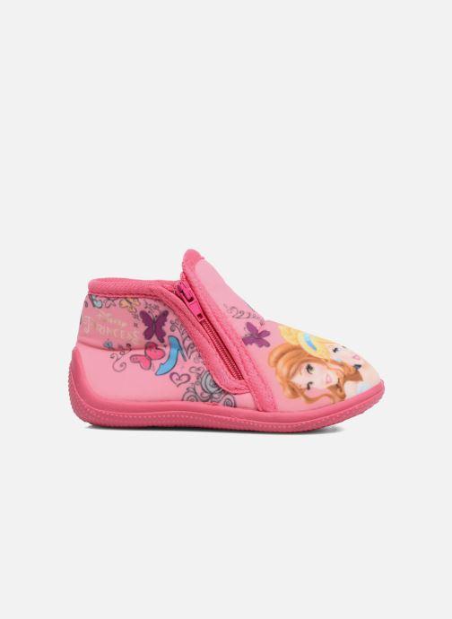 Chaussons Disney Princess Axe Rose vue derrière