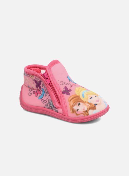 Chaussons Disney Princess Axe Rose vue détail/paire