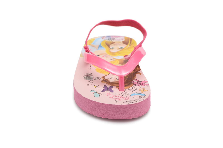 Tongs Disney Princess Taco Rose vue portées chaussures