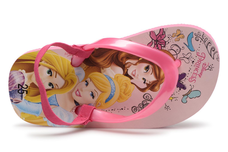 Tongs Disney Princess Taco Rose vue gauche