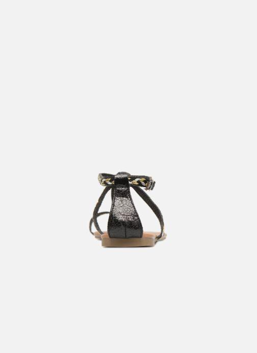 Sandales et nu-pieds Xti Kiss 033550 Noir vue droite