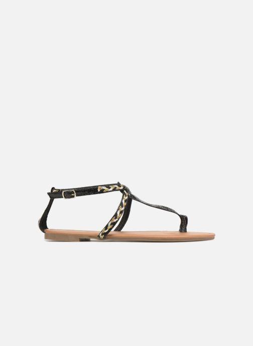 Sandales et nu-pieds Xti Kiss 033550 Noir vue derrière