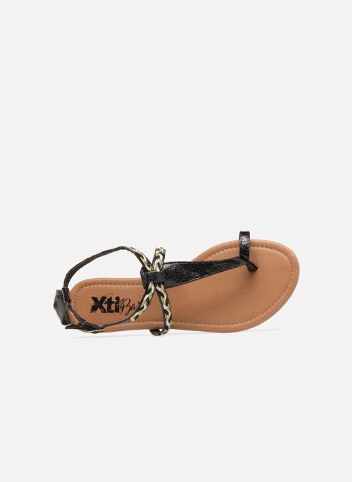Sandales et nu-pieds Xti Kiss 033550 Noir vue gauche