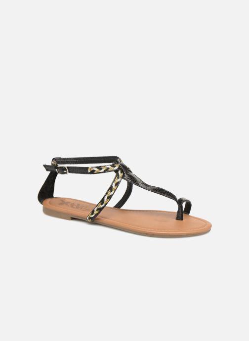 Sandales et nu-pieds Xti Kiss 033550 Noir vue détail/paire