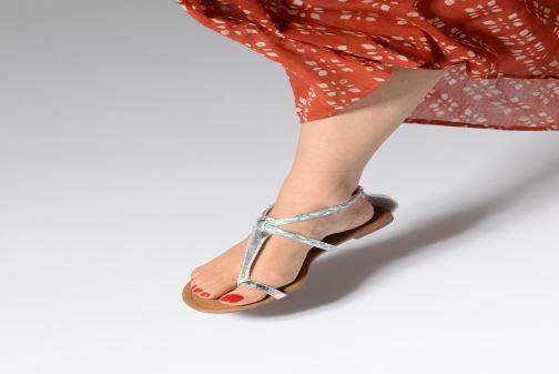 Sandales et nu-pieds Xti Kiss 033550 Or et bronze vue bas / vue portée sac
