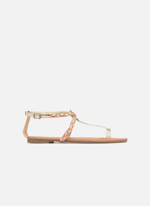 Sandales et nu-pieds Xti Kiss 033550 Or et bronze vue derrière