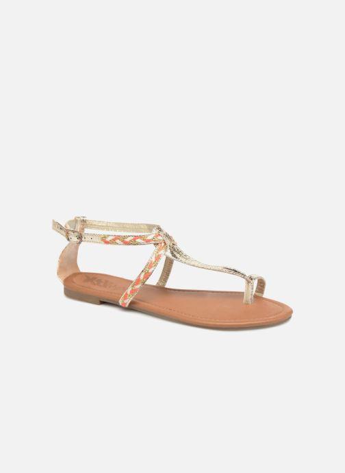 Sandales et nu-pieds Xti Kiss 033550 Or et bronze vue détail/paire