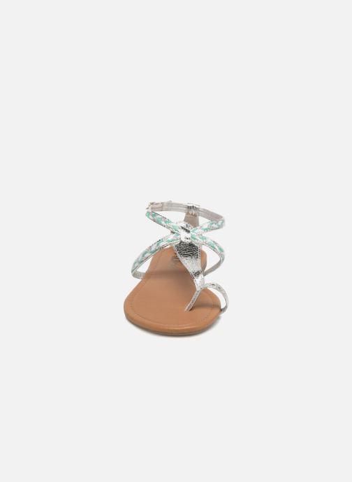 Sandalen Xti Kiss 033550 silber schuhe getragen