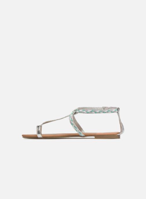 Sandales et nu-pieds Xti Kiss 033550 Argent vue face