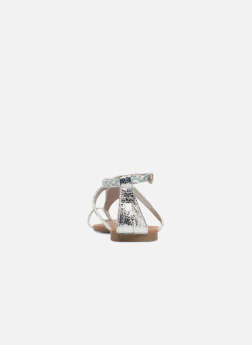 Sandales et nu-pieds Xti Kiss 033550 Argent vue droite