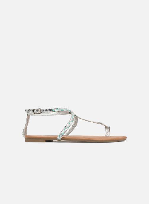 Sandales et nu-pieds Xti Kiss 033550 Argent vue derrière