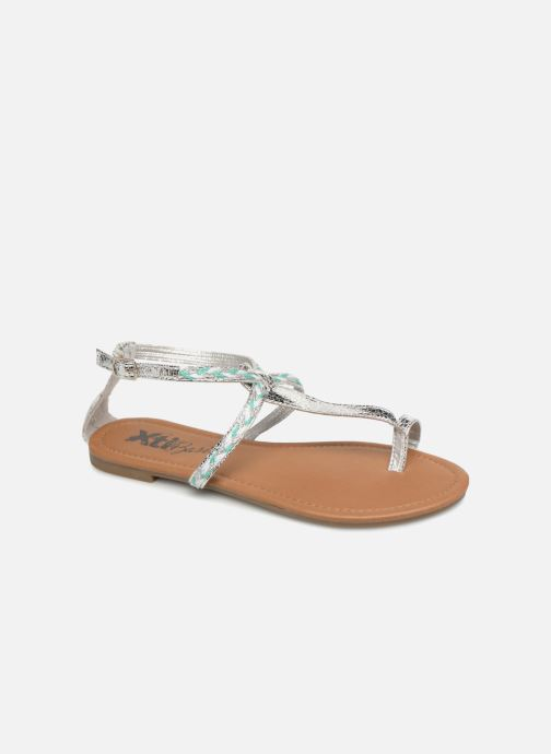 Sandals Xti Kiss 033550 Silver detailed view/ Pair view