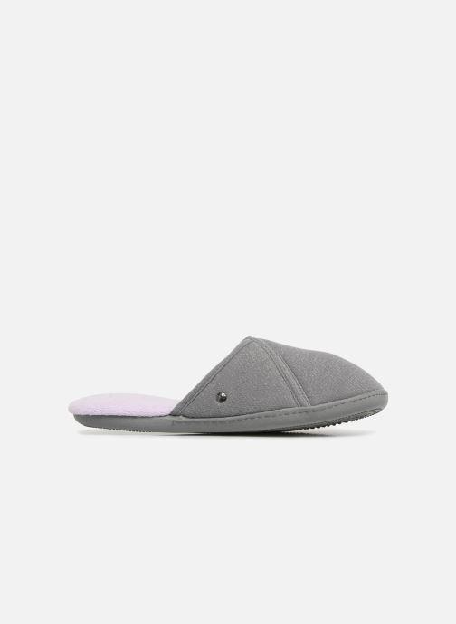 Slippers Isotoner Mule semelle ergonomique Grey back view