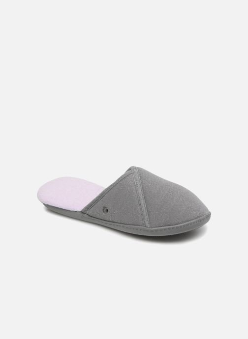 Slippers Isotoner Mule semelle ergonomique Grey detailed view/ Pair view