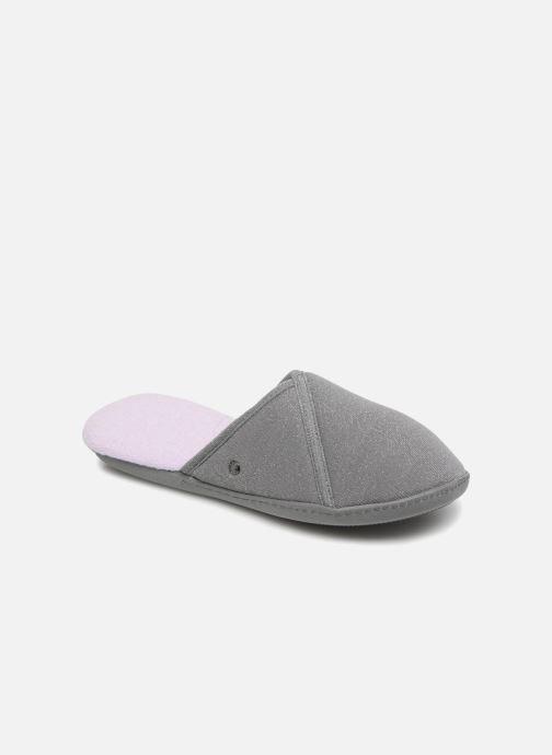 Pantoffels Isotoner Mule semelle ergonomique Grijs detail