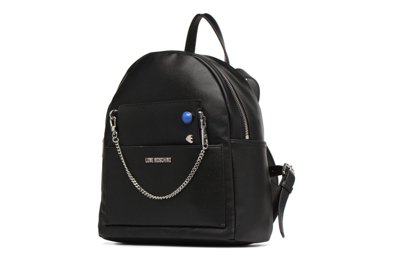 Rucksäcke Love Moschino Sac à dos avec Pochette amovible JC4301PP05 schwarz schuhe getragen