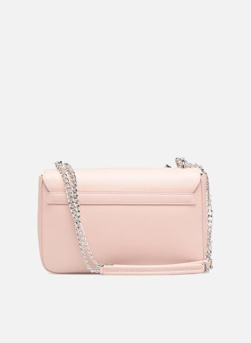 Handtaschen Love Moschino Porté épaule avec pochette amovible JC4303PP05 rosa ansicht von vorne