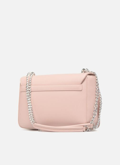 Handtaschen Love Moschino Porté épaule avec pochette amovible JC4303PP05 rosa ansicht von rechts