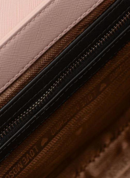 Sacs à main Love Moschino Porté épaule avec pochette amovible JC4303PP05 Rose vue derrière