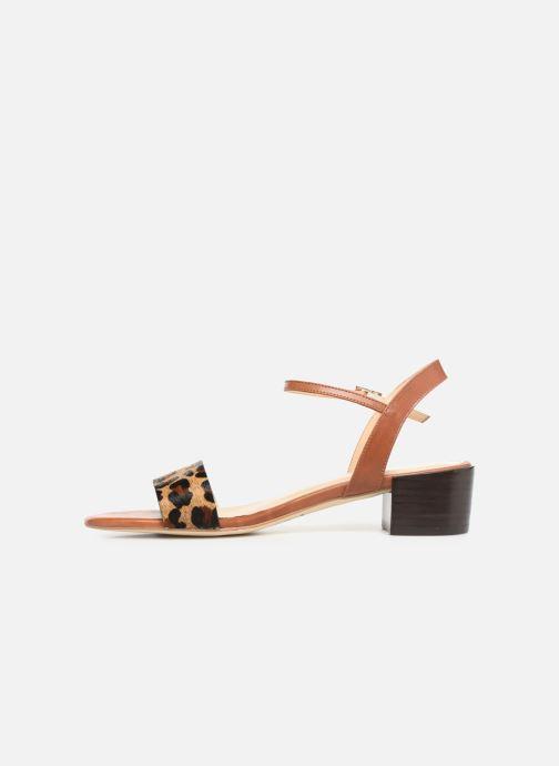 Sandali e scarpe aperte Jonak VIO Marrone immagine frontale