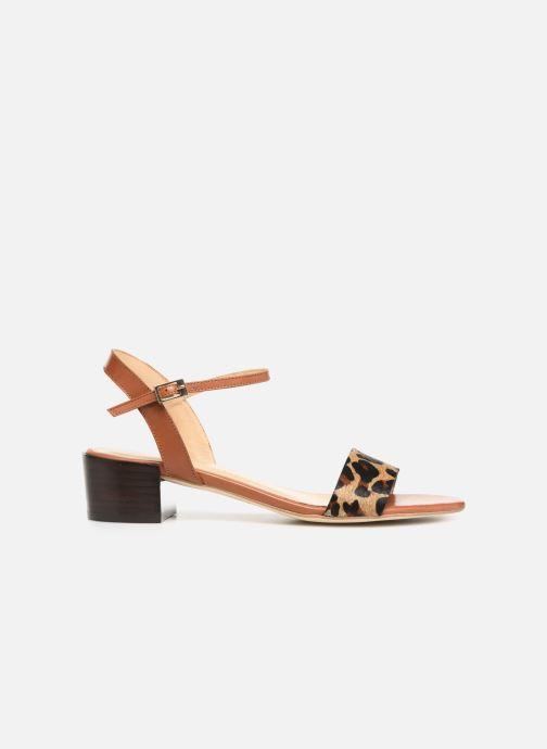 Sandali e scarpe aperte Jonak VIO Marrone immagine posteriore