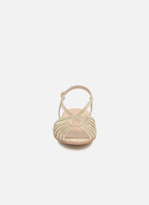 Sandals Jonak DISCUT Bronze and Gold model view
