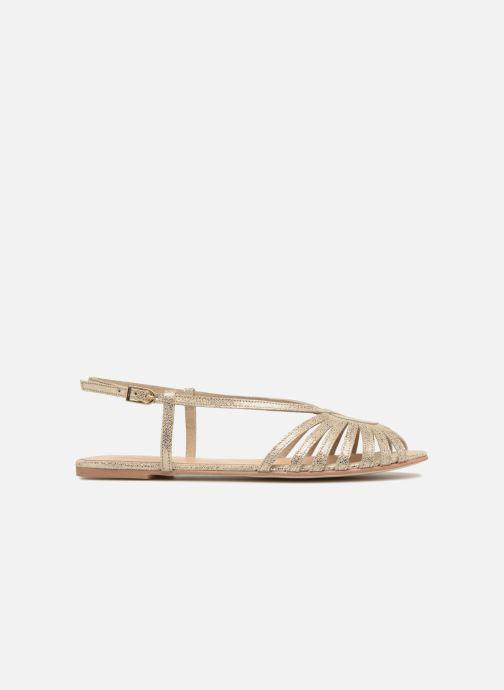Sandales et nu-pieds Jonak DISCUT Or et bronze vue derrière