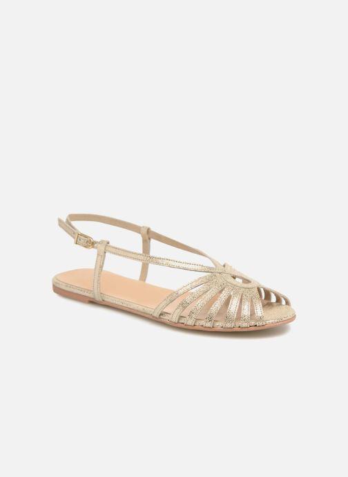 Sandales et nu-pieds Jonak DISCUT Or et bronze vue détail/paire