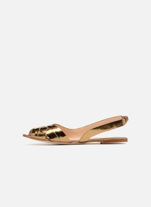 Sandales et nu-pieds Jonak DOUSSOU Or et bronze vue face