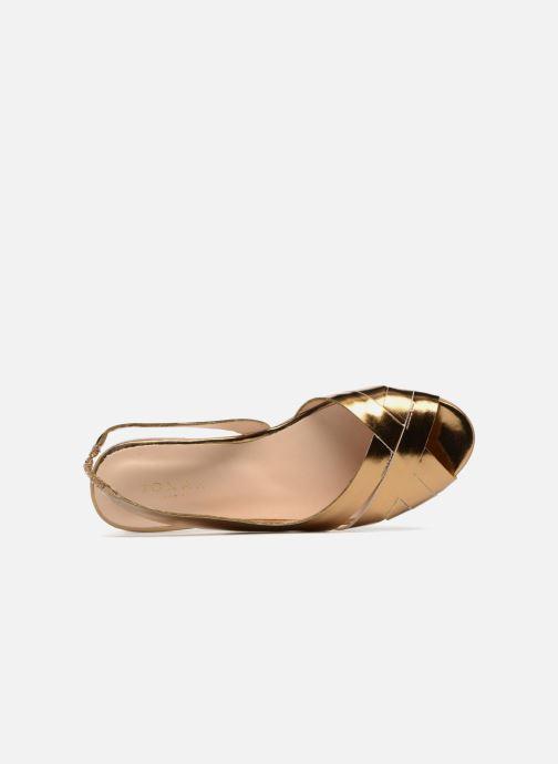 Sandales et nu-pieds Jonak DOUSSOU Or et bronze vue gauche