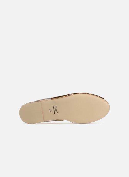 Sandales et nu-pieds Jonak DOUSSOU Or et bronze vue haut