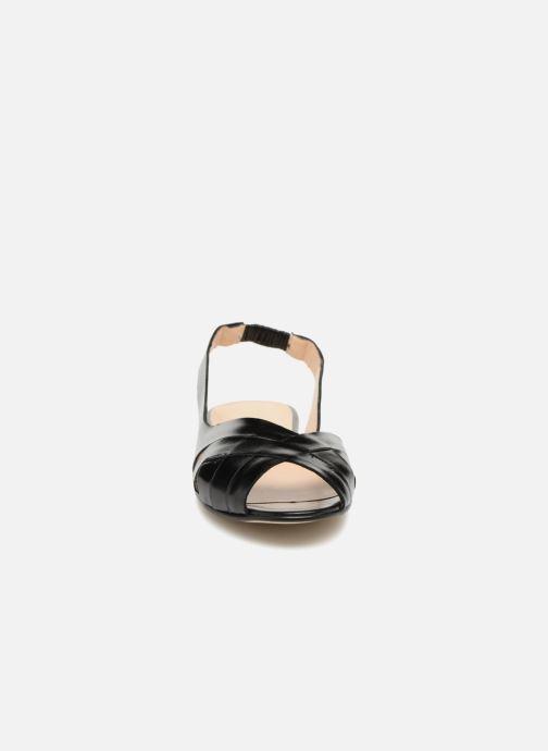 Sandalen Jonak DOUSSOU schwarz schuhe getragen