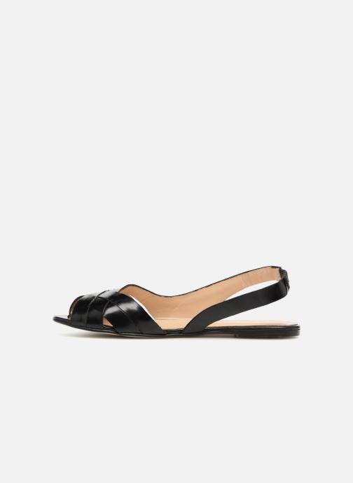 Sandales et nu-pieds Jonak DOUSSOU Noir vue face