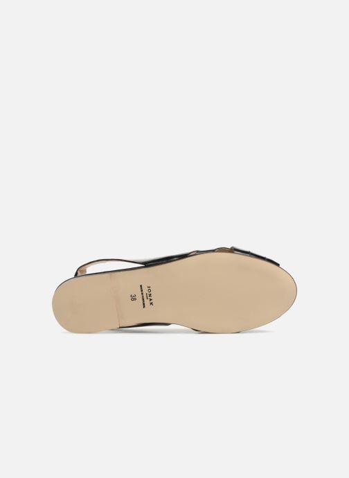 Sandales et nu-pieds Jonak DOUSSOU Noir vue haut