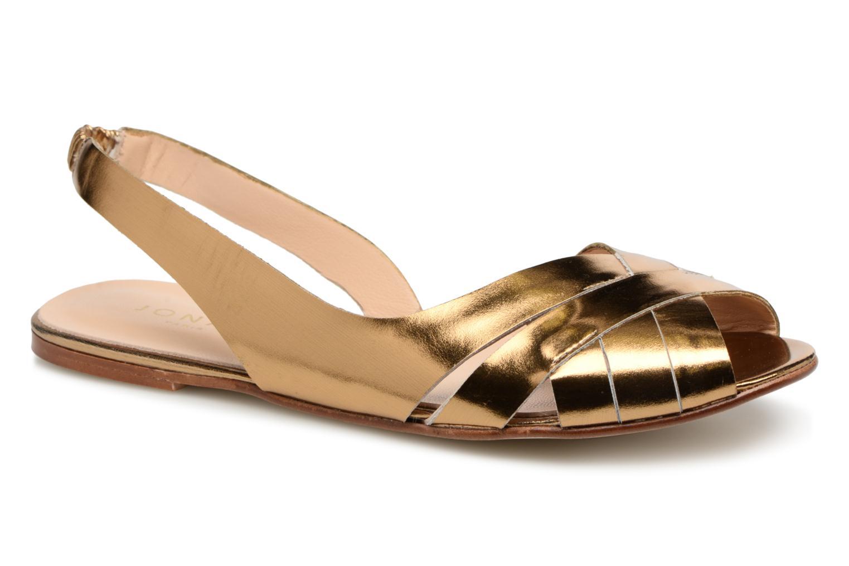 Sandales et nu-pieds Jonak DOUSSOU Or et bronze vue détail/paire