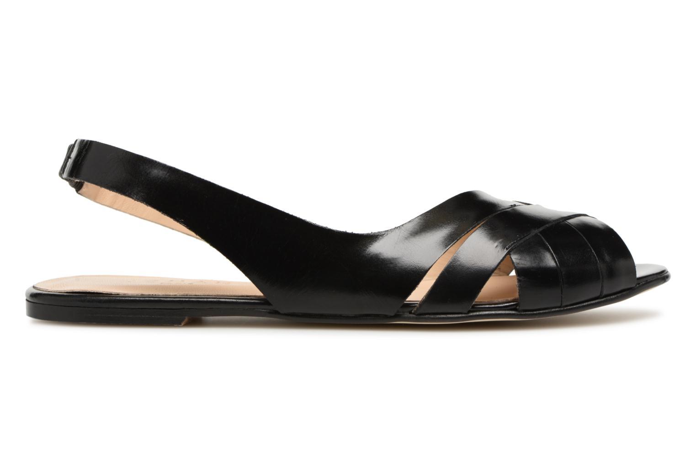 Sandales et nu-pieds Jonak DOUSSOU Noir vue derrière