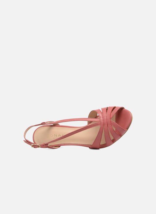 Sandali e scarpe aperte Jonak DAVIS Rosa immagine sinistra