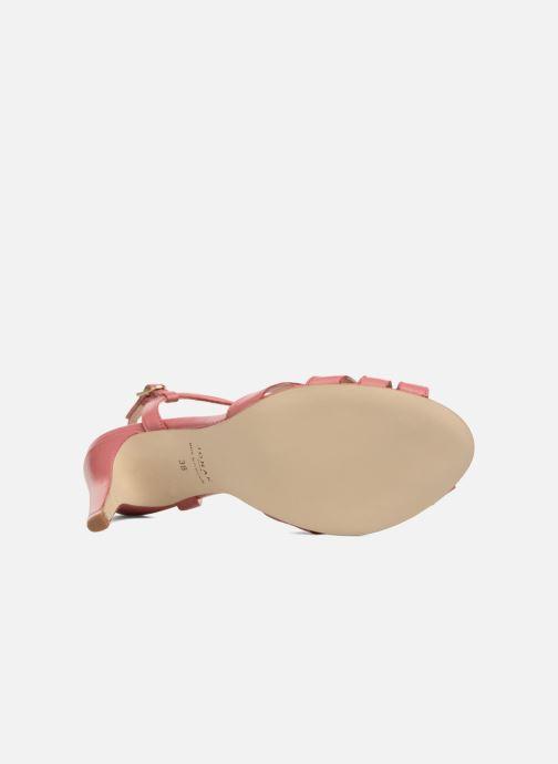 Sandales et nu-pieds Jonak DAVIS Rose vue haut