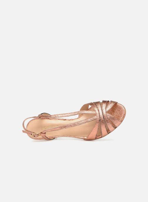 Sandales et nu-pieds Jonak DAVIS Rose vue gauche