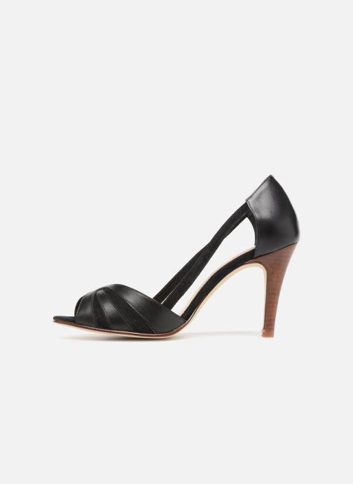 Sandales et nu-pieds Jonak DAGILO Noir vue face