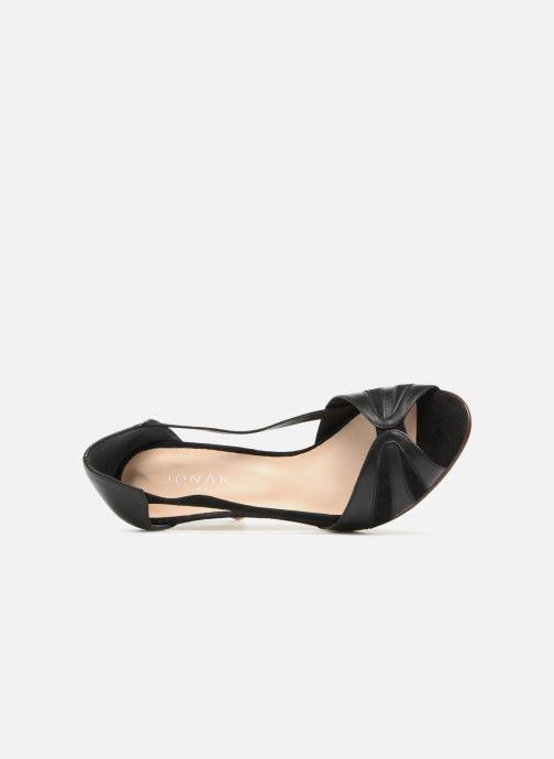 Sandales et nu-pieds Jonak DAGILO Noir vue gauche
