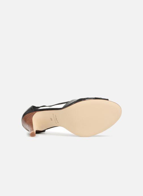 Sandales et nu-pieds Jonak DAGILO Noir vue haut