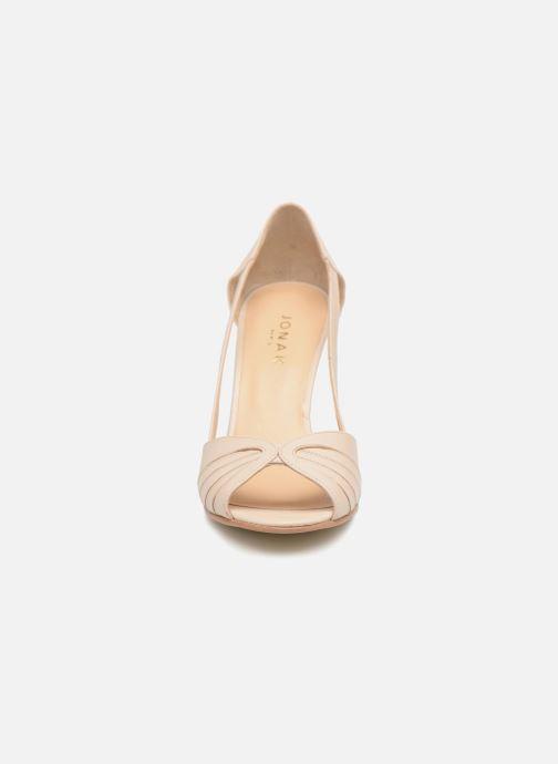 Sandales et nu-pieds Jonak DAGILO Beige vue portées chaussures